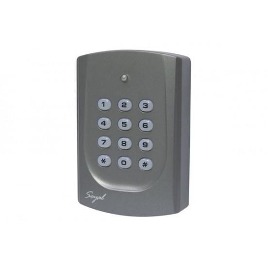 AR-721H durų valdiklis su klaviatūra ir atstuminių kortelių skaitytuvu, Mifare 13,56Mhz