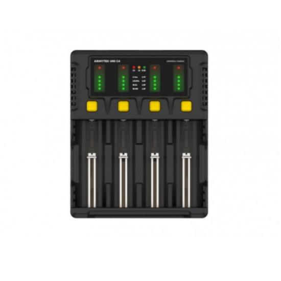 ARMYTEK UNI C4 universalus baterijų įkroviklis