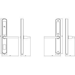 Išmanioji durų spyna A210 TTLock