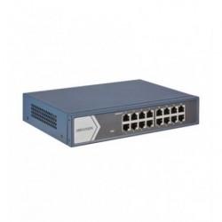 Hikvision 16 prievadų komutatorius DS-3E0516-E(B)
