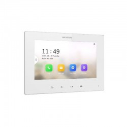 Hikvision monitorius telefonspynėms DS-KH6320-LE1-W (baltas)