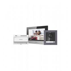 Hikvision telefonspynės 2 laidų komplektas DS-KIS702-P(B)