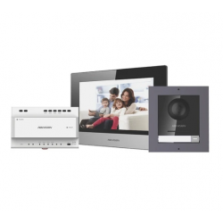 Hikvision telefonspynės 2 laidų komplektas DS-KIS702-P