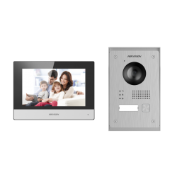 Hikvision telefonspynės 2 laidų komplektas DS-KIS703-P