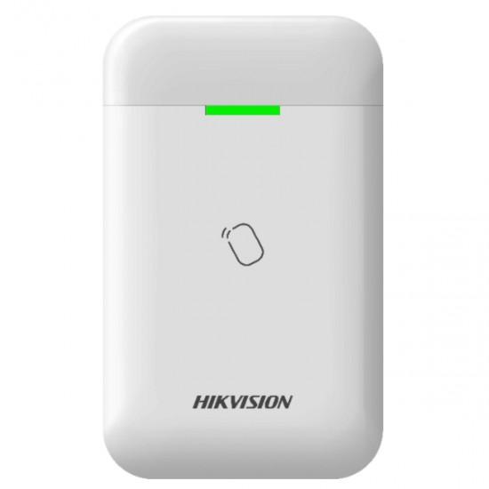 Hikvision AX PRO bevielis kortelių skaitytuvas DS-PT1-WE