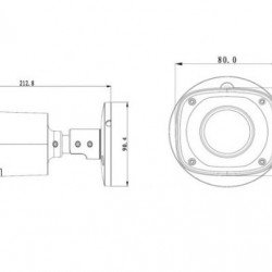 DH-HFW2300RP-Z 3MP skaitmeninė kamera