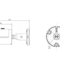DH-IPC-HFW1320S 3MP skaitmeninė kamera