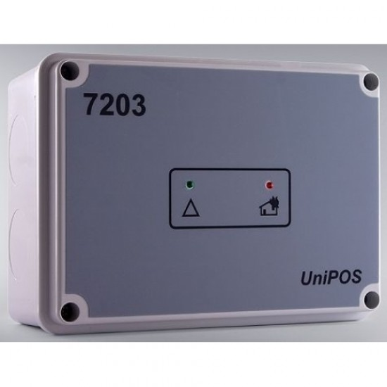 FD7203 UniPos  adresinis 3IN / 5OUT modulis