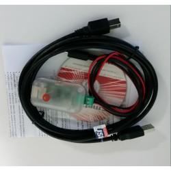 RS-485 į USB (RS) keitiklis tvoros apsaugos sitema