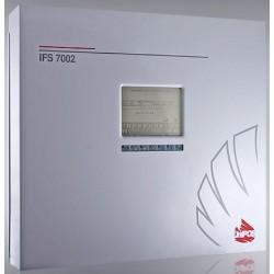 IFS7002 UniPOS  2-jų kilpų priešgaisrinė adresinė centralė