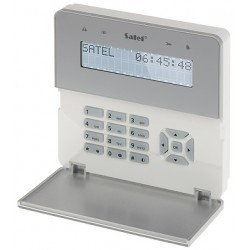 Satel belaidė LCD klaviatūra su kortelių nuskaitytuvu INT-KWRL2-SSW
