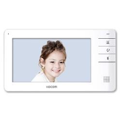 KCV-S701EB(AC) spalvotas 7'' LCD monitorius telefonspynei, baltas, 230V AC