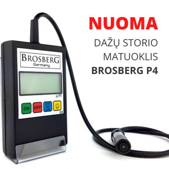 NUOMA - Dažų storio matuoklis BROSBERG P4
