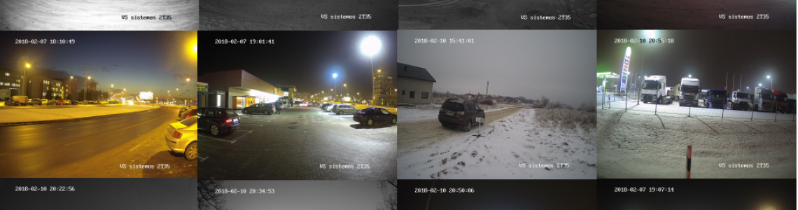 Hikvision kamerų palyginimas 2T35, 2T42, 2T55 ir 2T85