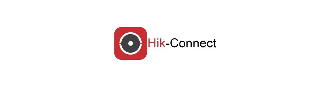 HIK-connect paskyros sukūrimas ir įrenginio pridėjimas