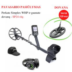 Metalo detektorius NOKTA MAKRO SIMPLEX WHP + DOVANA