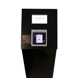 Galimybių paso ir ES skaitmeninio pažymėjimo QR skaitytuvas su LCD ekranu, 230V (GPASS QR)
