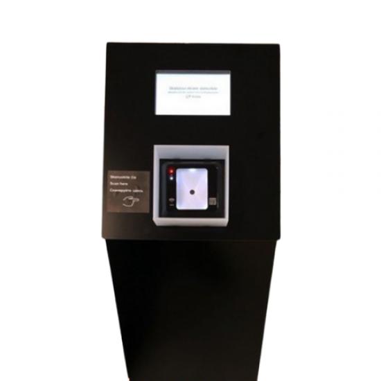 Galimybių paso ir ES skaitmeninio pažymėjimo QR skaitytuvas su LCD ekranu, 230V (GPASS_M QR)