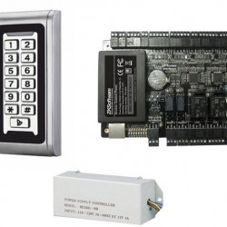 Praėjimo kontrolės komplektas S-600W ir ZkTeco C3-100 (su apskaita)
