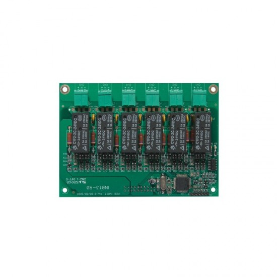 Inim 6 terminalų (įėjimų/išėjimų) išplėtimo plokštė SmartLoop/INOUT V2.0