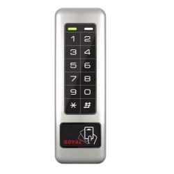 Soyal AR-331E durų valdiklis su klaviatūra ir kortelių skaitytuvu, su pašvietimu, LAN, 125kHz / Mifare 13,56MHz