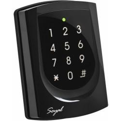 Soyal AR-725E-V2 2 durų valdiklis su klaviatūra ir kortelių skaitytuvu, su pašvietimu, LAN, 125kHz
