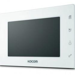 KOCOM KCV-504 spalvotas 7'' LCD monitorius telefonspynei, baltas, 230V