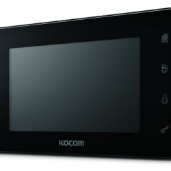 KCV-544 spalvotas 7'' LCD monitorius telefonspynei, juodas, 230V.