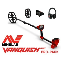 Metalo detektorius MINELAB VANQUISH 540 PRO PACK + DOVANA