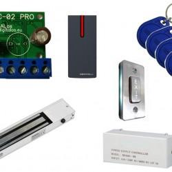 Praėjimo kontrolės komplektas WPC-02Pro+YM280LED (vidaus sąlygoms)