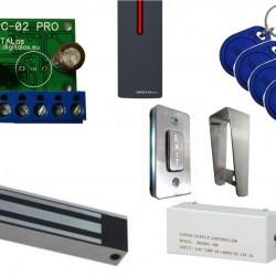 Praėjimo kontrolės komplektas WPC-02Pro+YM280W (lauko sąlygoms)