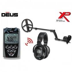 XP DEUS SU 22CM X35 rite, pultu, belaidėmis WS4 ausinėmis