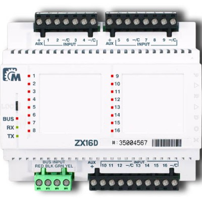 ZX16D Paradox 16-zonų išplėtimo modulis