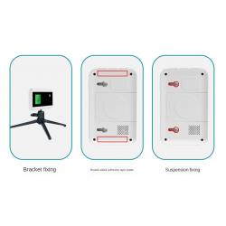 Bluetooth balsinis bekontaktinis IR lazerio temperatūros matavimas