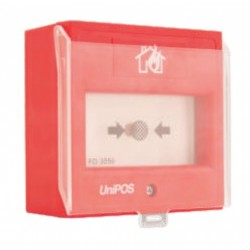 FD7150 UniPos plastikinis dangtelis  gaisro pavojaus mygtukui