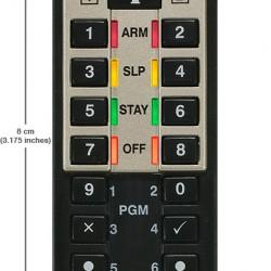 REM3 Paradox nuotolinio valdymo pultelis