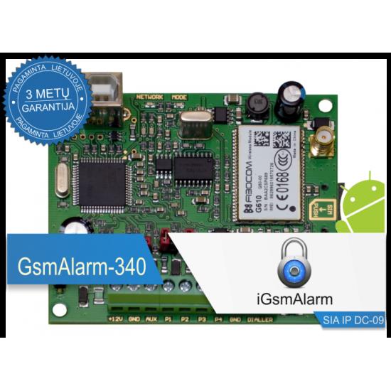 GSM modulis GsmAlarm-340