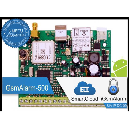 Apsaugos ir valdymo įrenginys GsmAlarm-500