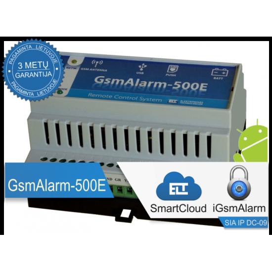 Apsaugos ir valdymo įrenginys GsmAlarm-500E