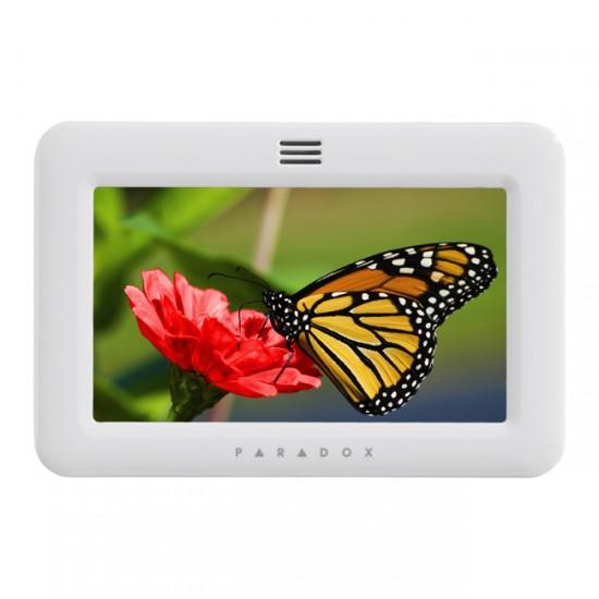 TM50 LCD Paradox klaviatūra lietimui jautriu ekranu