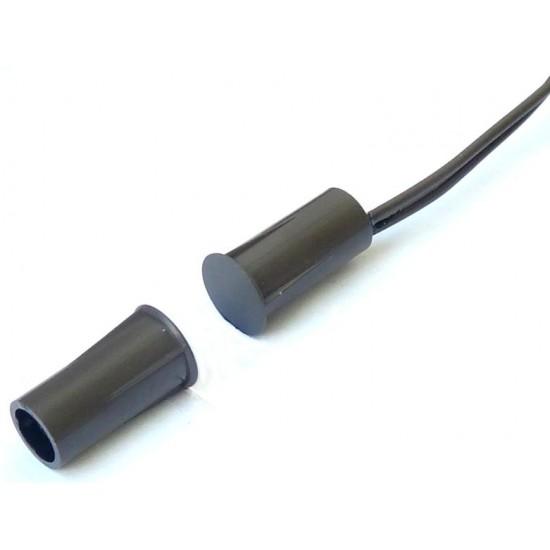 Įleidžiamas magnetinis kontaktas rudas