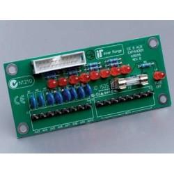 Concept 995055  4000 Access centralės 8 atviro kolektoriaus PGM išplėtimo plokštė