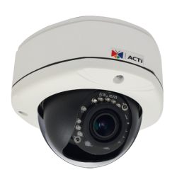 Skaitmeninė vidaus kamera 1MP ACTi D81A, F2.8-12