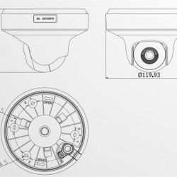 DS-2CD2F42FWD-IWS F2.8 Hikvision 4MP skaitmeninė vidaus kamera