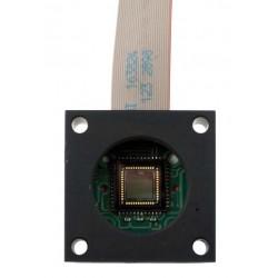 Sensorinė plokštė (aliuminiame bloke) su CS lęšiais tinkančiais DevKit modeliams