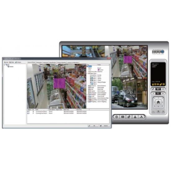 Keturių kamerų licenzija SCB IP P IVS CAM 04 skirta IVS sistemai