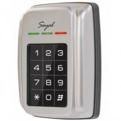 Soyal AR-321H durų valdiklis su klaviatūra ir atstuminių kortelių skaitytuvu, metalinis korpusas, 125kHz