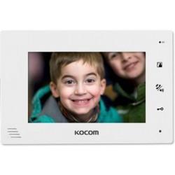 KCV-A374 spalvotas 7'' LCD monitorius telefonspynei, baltas.