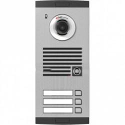 KVL-C303i trijų abonentų iškvietimo modulis, su spalvota video kamera.