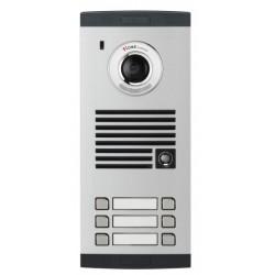 KVL-TC306i šešių abonentų iškvietimo modulis, su spalvota video kamera.